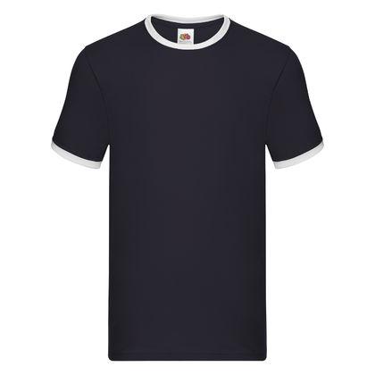 Мъжка двуцветна тениска С24
