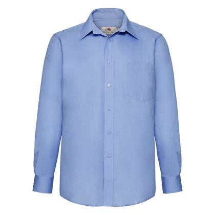 Елегантна мъжка риза с джоб С64