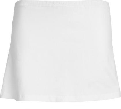 Къса еластична спортна пола с шорти С211