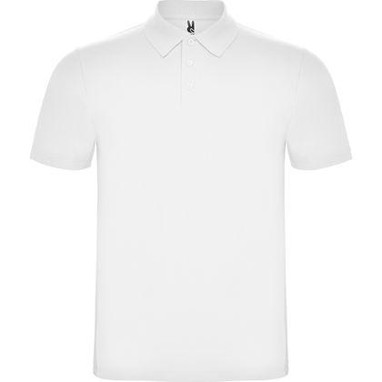 Бяла мъжка риза поло пике С1743