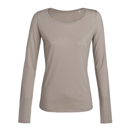 Дамска блуза в бежово С957