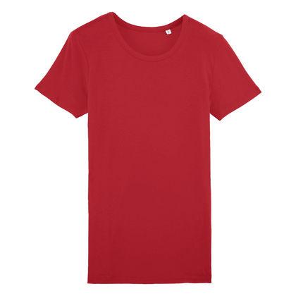 Дамска тениска в червено С1536