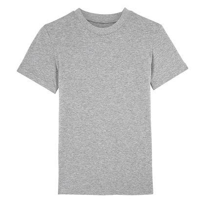 Евтина дамска тениска в сиво С1592