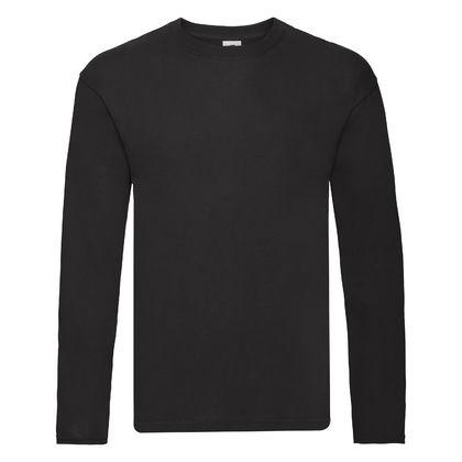 Памучна блуза с дълъг ръкав С1441