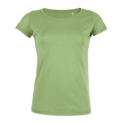 Евтина дамска тениска от органичен памук С1680-1