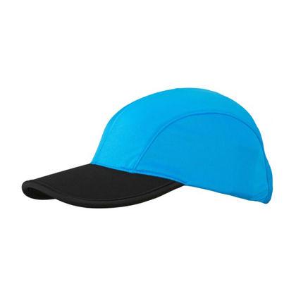 Двуцветна шапка с козирка С1838