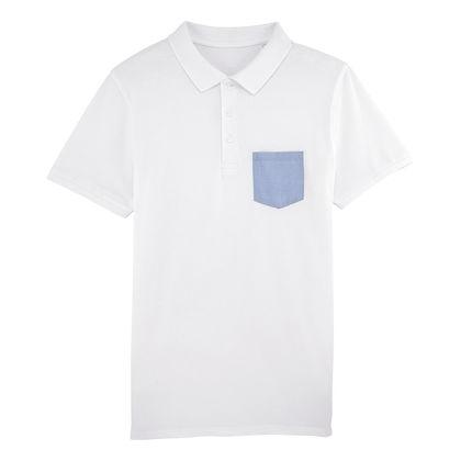 Мъжка риза с джоб С1834
