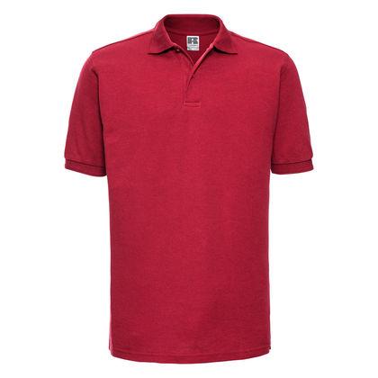 Мъжка риза от памук и полиестер В1540