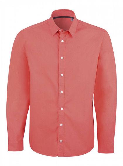 Елегантна мъжка риза с дълъг ръкав С1158