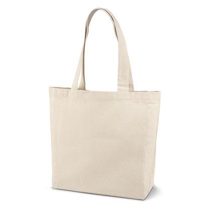 Памучна пазарска чанта с джоб С599