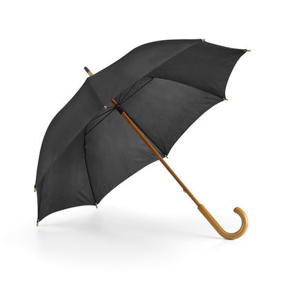 Стилен чадър с дървена дръжка С783