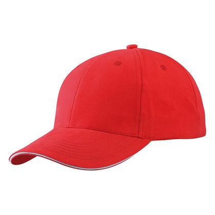 Висококачествена памучна шапка с козирка С1301