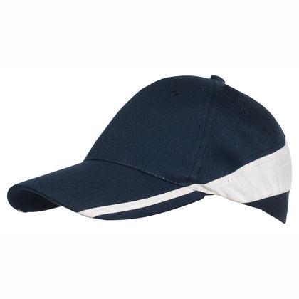 Красива двуцветна шапка С312