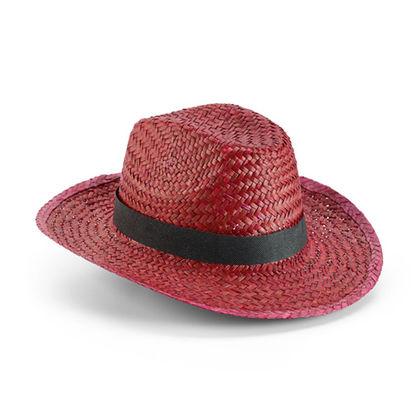 Цветна сламена шапка С181