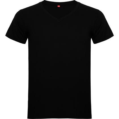 Мъжка тениска с остро деколте С1872