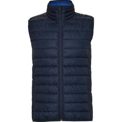 Тъмно синьо яке без ръкави С1391-2