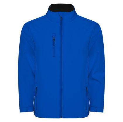 Синьо неопреново яке С1367-3