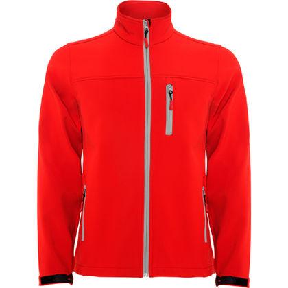 Червено мъжко яке за есента С8-5