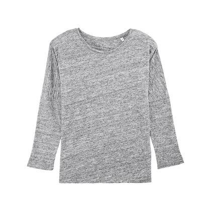 Спортна дамска блуза с 3/4 ръкав С1923