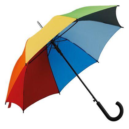 Цветен чадър с автоматично отваряне С1707