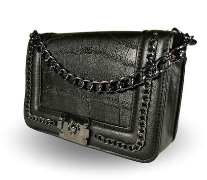 Елегантна черна чанта Тони