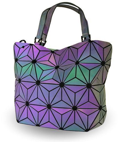 Дамска чанта холограмна Миа