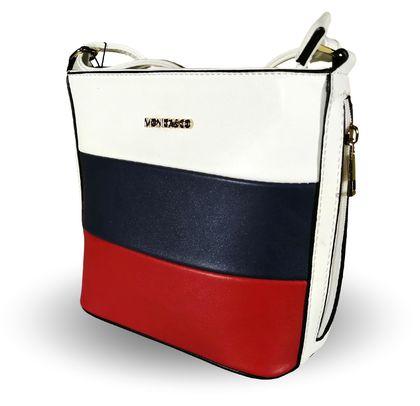 Дамска чанта трицветна Мока