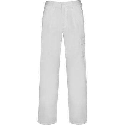 Работен бял панталон С1522
