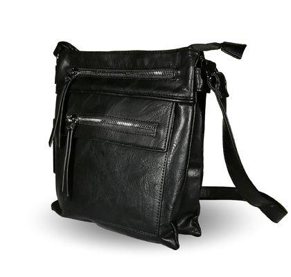 Дамска чанта с много джобове Жаси