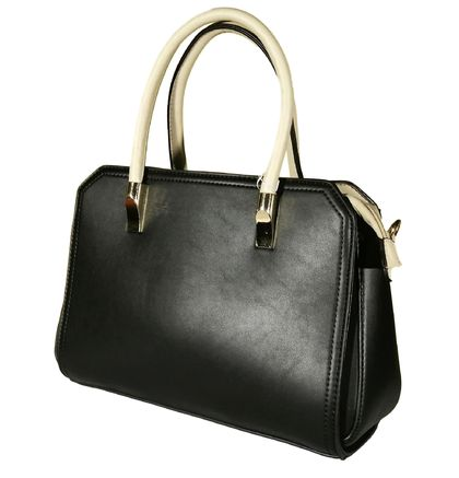 Дамска чанта с контрастни дръжки Ирка