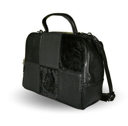 Дамска чанта тип куфар Бека