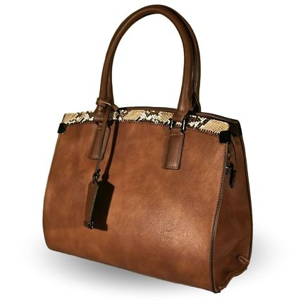 Кафява дамска чанта Дария