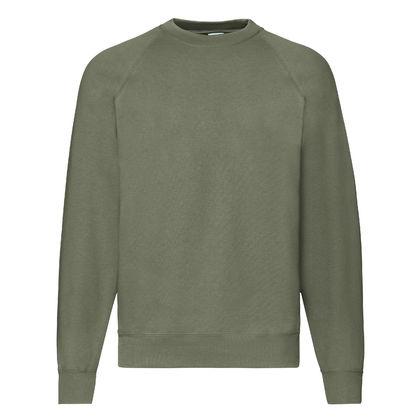 Мъжка блуза цвят олива С94-2