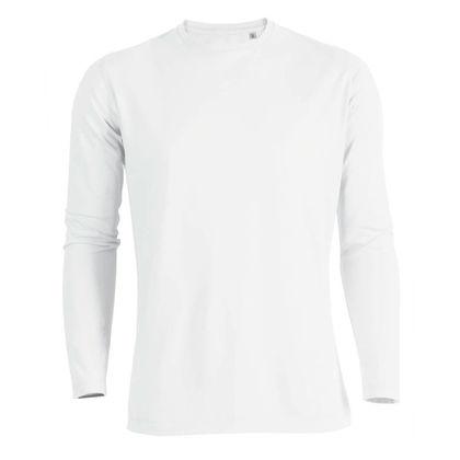Елегантна мъжка блуза в бяло С979-2