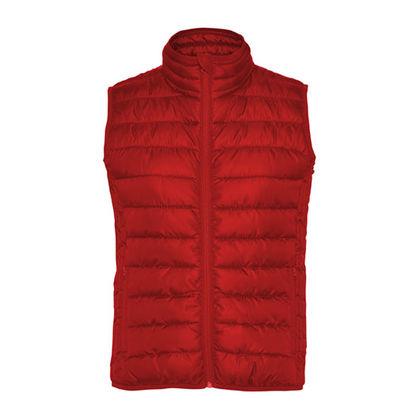 Червено дамско яке без ръкав С1392-6