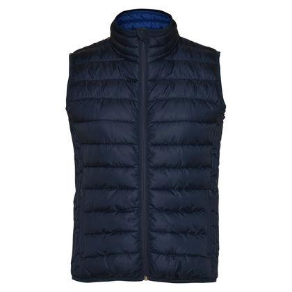 Дамско яке без ръкав в тъмно синьо С1392-7