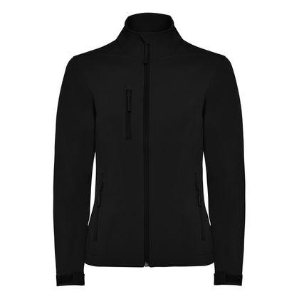Непромокаемо дамско яке в черно С1369