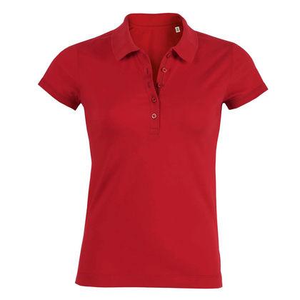 Качествена дамска риза в червено С1288-3