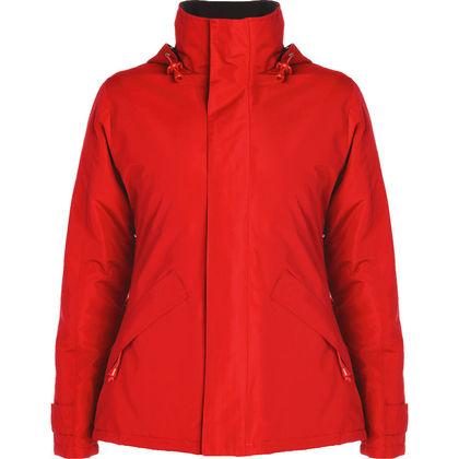 Зимно дамско яке в червено С266-3