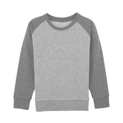 Детска двуцветна блуза от био памук С1953