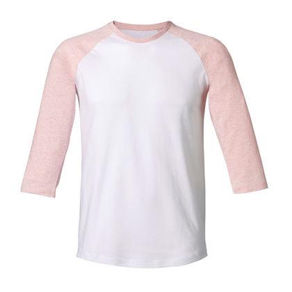Унисекс тениска с 3/4 С1508-2