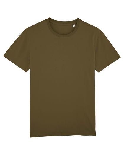 Мъжка тениска цвят каки С1141-2