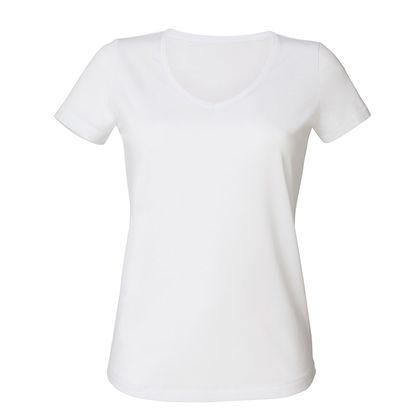 Качествена бяла тениска С1252