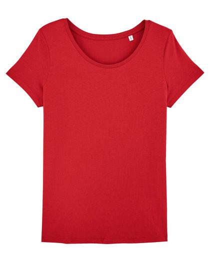 Червена дамска тениска С1680-4