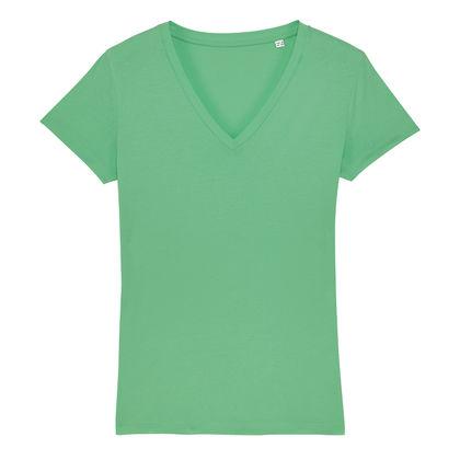 Дамска тениска с остро деколте С1981