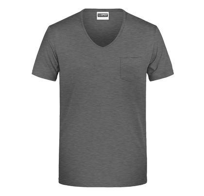 Мъжка тениска с джоб В8004ДН