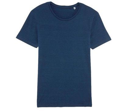 Мъжка тениска в цвят деним С1969