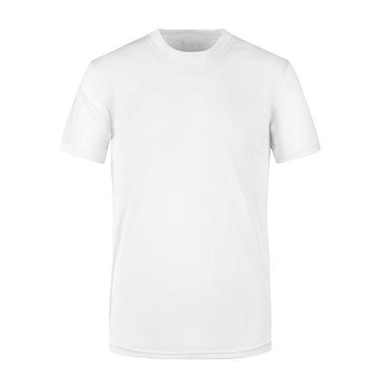 Българска бяла тениска с ликра С1988