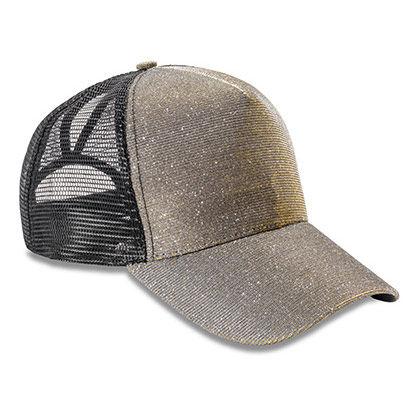 Блестяща шапка с козирка С2069