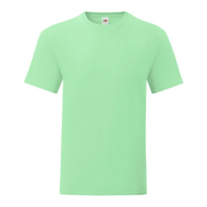 Мъжка тениска цвят мента С1755-2